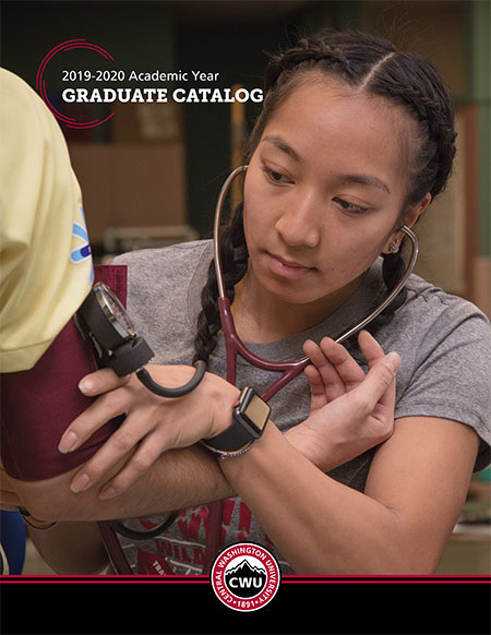 2019-2020 CWU Graduate Catalog Cover